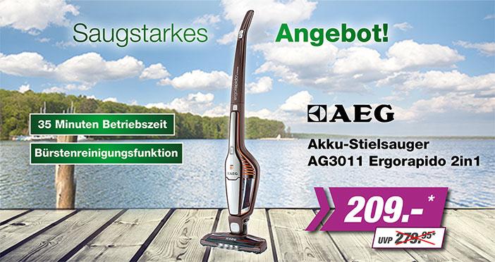 AEG Akku-Stilsauger
