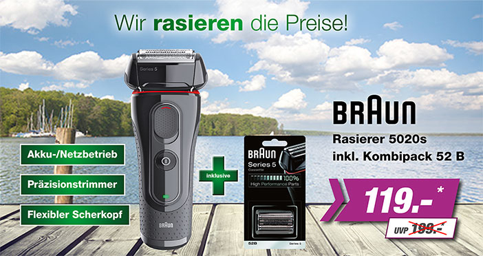 Braun Rasierer-Set