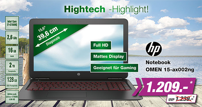 HP Gaming Notebook