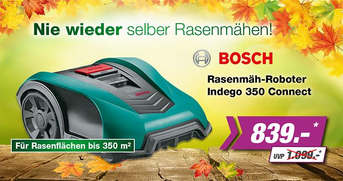 Bosch Rasenmähroboter