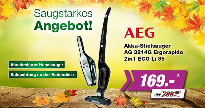 AEG Stielsauger