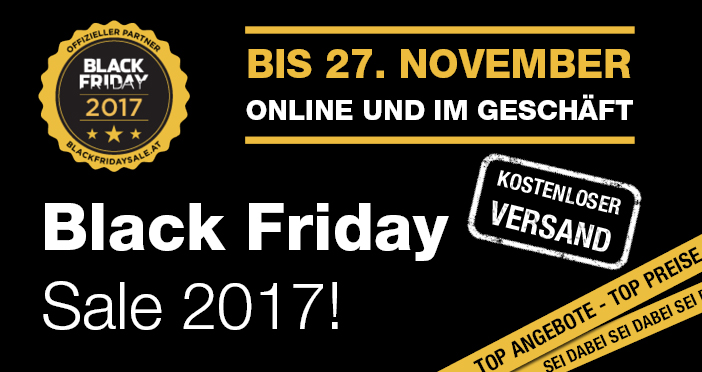 Black Friday Sale 2017