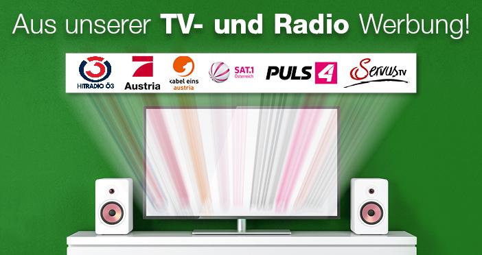 Aus der TV- und Radio-Werbung
