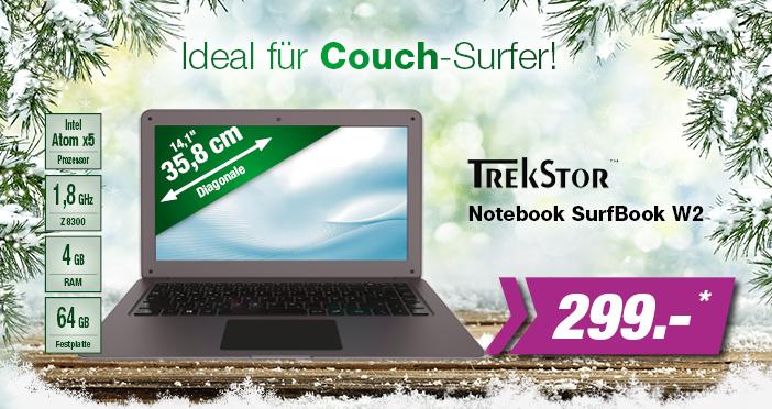 Trekstore SurfBook W2