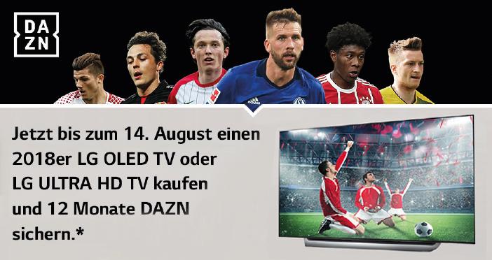 LG TV 12 Monate DAZN