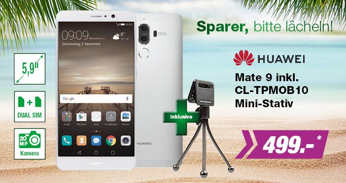 Huawei Mate9 + Stativ