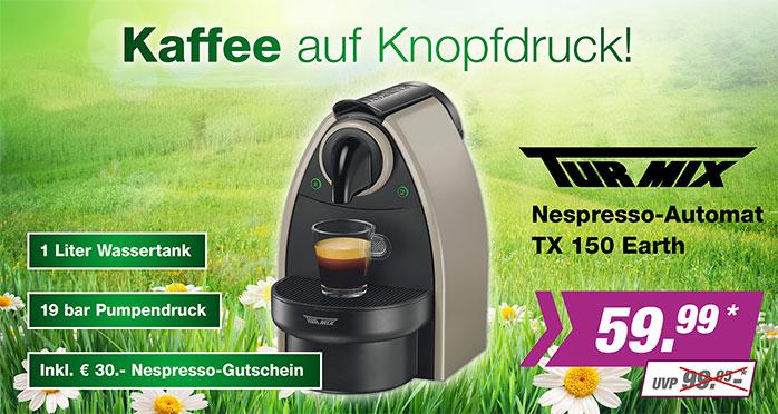Turmix Nespresso-Automat