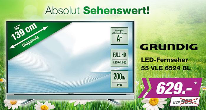 LED Grundig 55VLE 6524BL